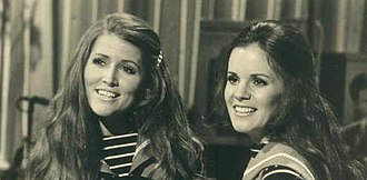 Sandi Griffiths - Griffiths and Sally Flynn in 1972