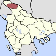 Sanjak z Novi Pazaru na osmanském Balkáně (konec 19. století) .png
