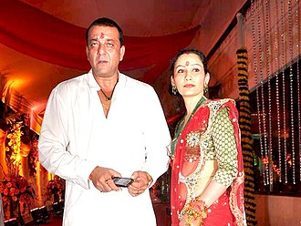 Sanjay Dutt - Dutt with wife Manyata in 2011