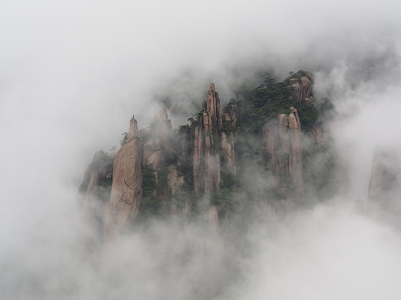 File:Sanqingshan south slope fog 1.jpg