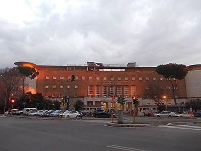 Come arrivare a Ospedale Sant'Eugenio con i mezzi pubblici - Informazioni sul luogo