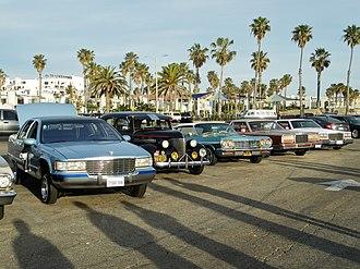 Lowrider - Lowriders on display in Santa Monica