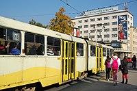 Sarajevo Tram-207 Line-3 2011-10-31.jpg