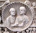 Sarcofago dei due fratelli con scene bibliche, 325-30 ca., da cimitero di lucina 03.1.JPG