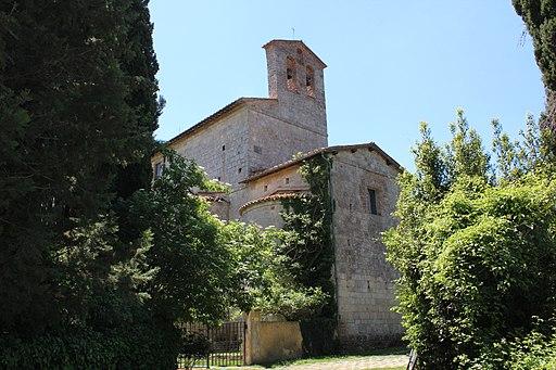 Sarteano (Siena). Abbazia della Santissima Trinità di Spineta