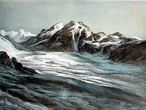 Sasser Pass - Saser Pass, Nubra c. 1857