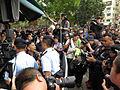 Sau Fu Street elderly shout protesters 20150301.jpg