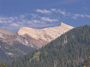 Mineral King - Silver was discovered near Sawtooth Peak in the 1870s.