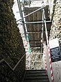 Scaffolding within The Keep at Portchester Castle - geograph.org.uk - 1085782.jpg