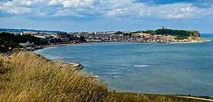 Scarborough, North Yorkshire - Scarborough's South Bay from Cliff Street