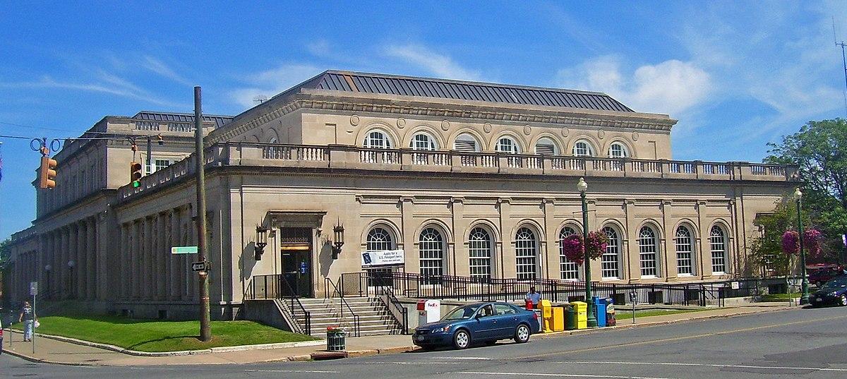 United states post office schenectady new york wikipedia - United states post office ...