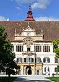 Schloss Eggenberg Portail 50394.JPG