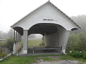 Lyndon, Vermont - Schoolhouse Covered Bridge in Lyndon