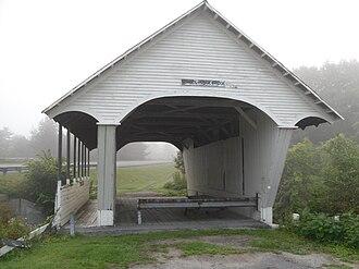 Lyndon, Vermont - Schoolhouse Covered Bridge in Lyndon