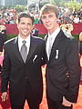 Scott Bailey & Ryan Kelley at 2009 Primetime Emmy Awards large.jpg