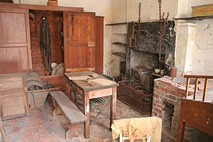 English: Scullery, Calke Abbey Stables This lo...
