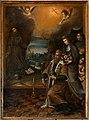 Scuola del cigoli, san Ludovico di Tolosa e santa Elisabetta d'Ungheria in adorazione di s. francesco, 1600-50 ca.jpg