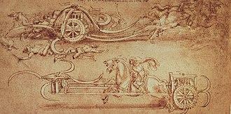 Scythed chariot - Da Vinci's Scythed Chariot