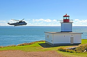 Sea King at Cape d'Or Lighthouse.jpg