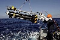 Seafox Mine Disposal System Onboard HMS Bangor off Libya MOD 45153320.jpg