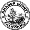 Official seal of Amador Coonty, Californie