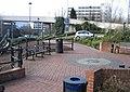 Seats and car park ramp - geograph.org.uk - 716300.jpg
