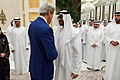 Secretary Kerry Shakes Hands With UAE Crown Prince Mohammed bin Zayed Before Attending an Iftar Dinner in Abu Dhabi (27448502202).jpg