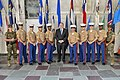 Secretary Pompeo Poses for a Photo With the U.S. Marine Security Detachment in Mexico City (42672744714).jpg
