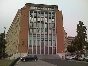 Headquarters building of the EMGFA and of the Ministry of National Defense,  in Lisbon. 940ecbef19