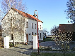 Old village school of Seifertshain (Grosspösna, Leipzig district, Saxony), today military medical service and hospital museum