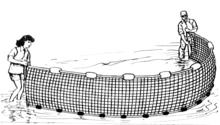 Seine fishing wikipedia for Drag net fishing