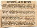 Seleccionado de la Escuela N° 70 de San José, Misiones (1981) Campeón Intercolegial.jpg
