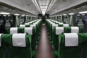 Semboku 12000 series - Image: Senboku liner 2 shanai