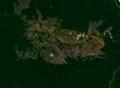 Serrania de San Simón Beni Bolivia satellite map62.16122W 13.png
