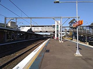 Seven Hills railway station railway station in Sydney, New South Wales, Australia