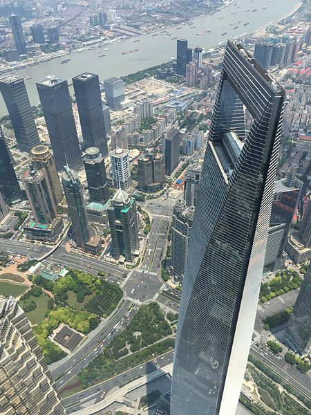 File:Shanghai World Financial Tower seen from Shanghai ...