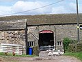 Sheep Shearing, White Lee Farm, near Bolsterstone - geograph.org.uk - 1368988.jpg