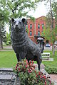 Shep monument in front of the Grand Union Hotel, Fort Benton, Montana.JPG