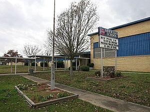 Sheridan, Texas - Image: Sheridan TX Elementary School