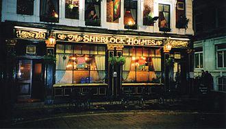 221B Baker Street - The Sherlock Holmes pub