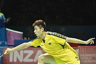 Shi Yuqi Badminton player