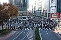 Shibuya Crossing, Tokyo; December 2017.jpg
