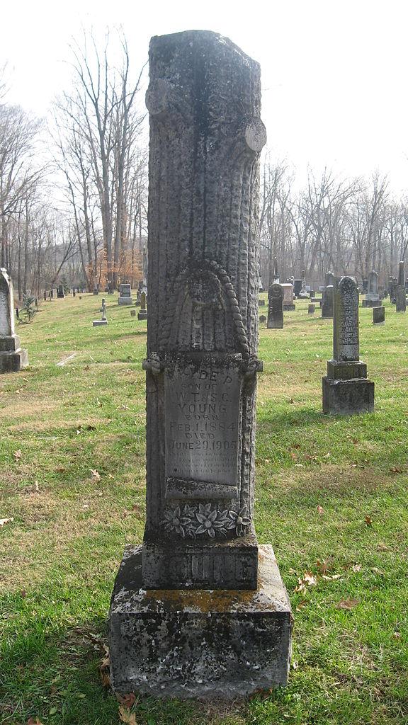 File:Shiloh Presbyterian Church near Ireland, tree ...