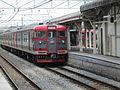 Shinano-railway 115 series S9 in Komoro Station 2015.JPG