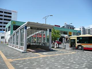 Shōnandai Station Railway and metro station in Yokohama, Japan