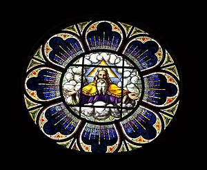 Shrine of the Most Blessed Sacrament - Rose Window
