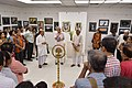 Shyamal Kumar Sen Addressing - 43rd PAD Group Exhibition Inauguration - Kolkata 2017-06-20 0260.JPG