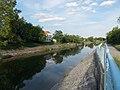 Sió-csatorna, Mathiász János utca felé nézve, 2019 Siófok.jpg