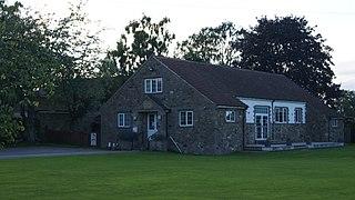Sicklinghall village in the United Kingdom