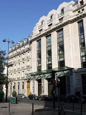 Areva - Areva headquarters, rue Lafayette in Paris